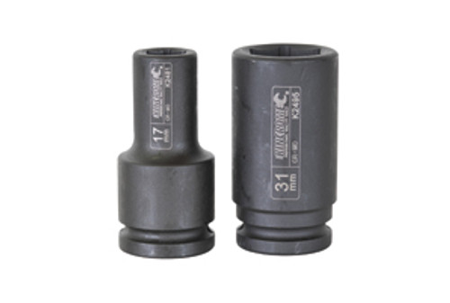 KINCROME IMPACT SOCKET DEEP 1''DR 75MM