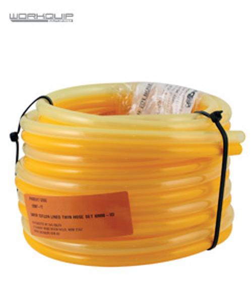 WORKQUIP 5MTR PTFE LINED TWIN HOSE SET 8MM-ID