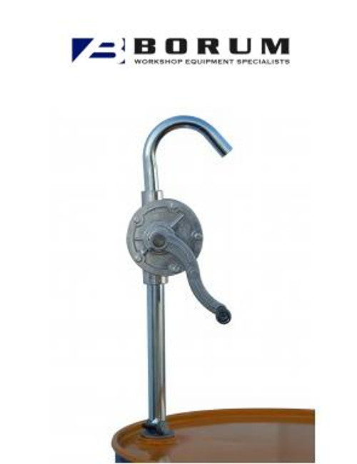 BORUM ALUMINIUM ROTARY 20 LITRE DRUM PUMP