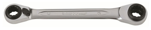 Bahco S4RM2127 Single Reversible Ratchet Spanner 21-27mm.