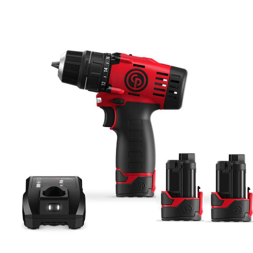 "CP8528 Chicago Pneumatic Compact 3/8"" Cordless Drill"