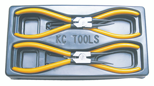 KC 4PC CIRCLIP PLIERS SET 230MM 17694
