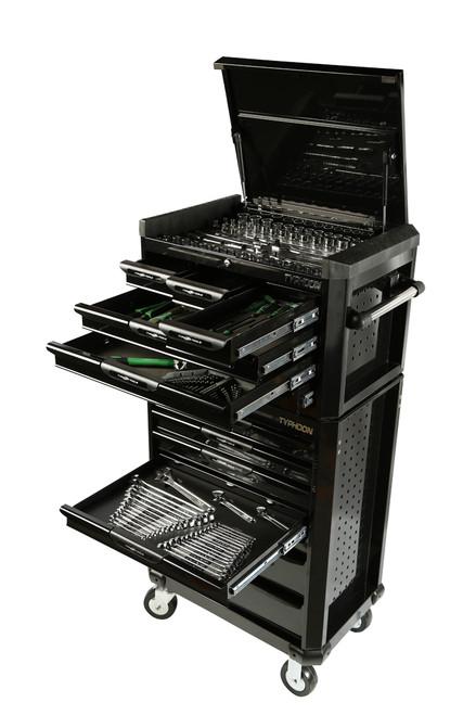 13 Drawer Mega 398pce AF & Metric Toolkit Black