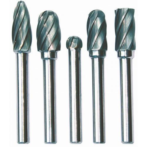SP 5pce Burr Set Aluminium & Non Ferrous SP31385