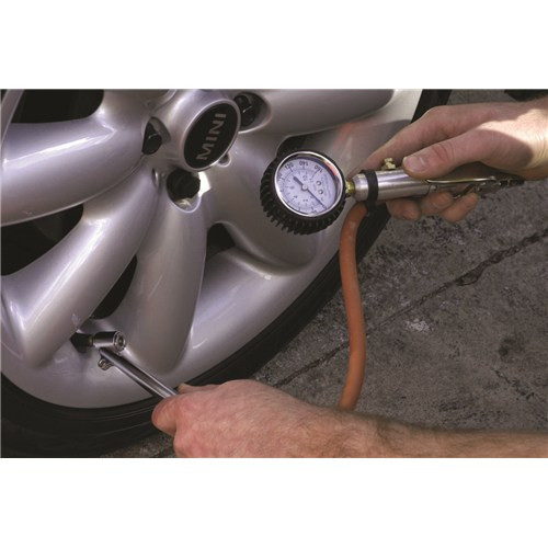 Suptool Quality Tyre Inflator & Gauge S130108