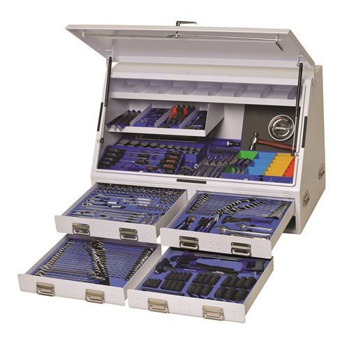 Kincrome Upright Truck Box Tool Kit 384 Piece K1257W White