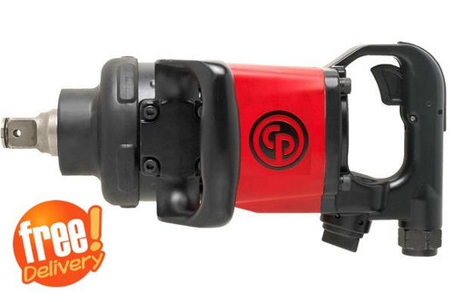 "CP7782 Chicago Pneumatic 1"" 2900Nm D Handle Impact Wrench."