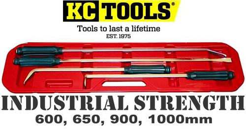08331 KC TOOLS 4 PIECE INDUSTRIAL STRENGTH PRY BAR SET