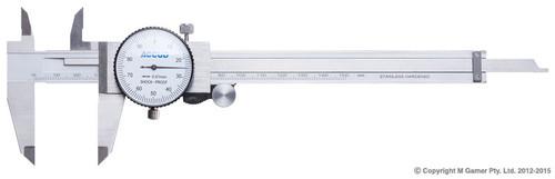 Accud 200mm Dial Vernier Caliper AC-101-008-11