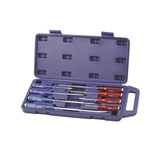 K5057 Kincrome Thru Tang Screwdriver Set 8 Piece