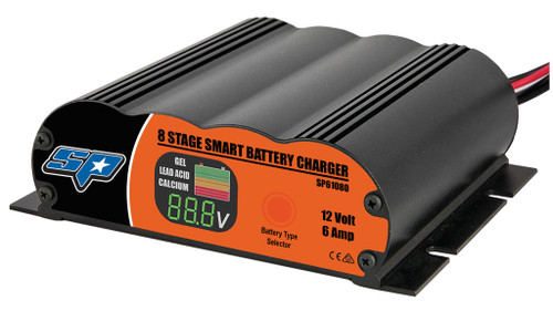 SP61080 SP Tools 8 Stage 6 Amp Smart Charger