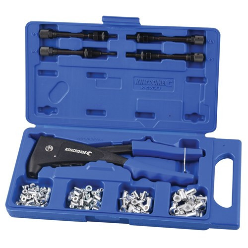 K4700 Kincrome Heavy Duty 85Pce Nut Riveter Kit