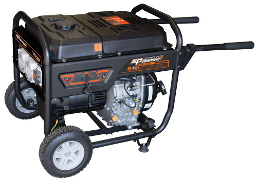 SPGD6800E SP Tools 13Hp Diesel Construction Series Generator