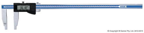 Accud 600mm Dual Scale Digital Vernier Caliper AC-118-024-11