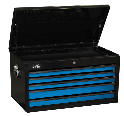 SP40121 SP Tools 7 Drawer Sumo Series Tool Box Black Blue