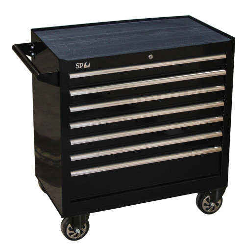 SP40125 SP Tools 7 Drawer Sumo Series Roller Cabinet Black