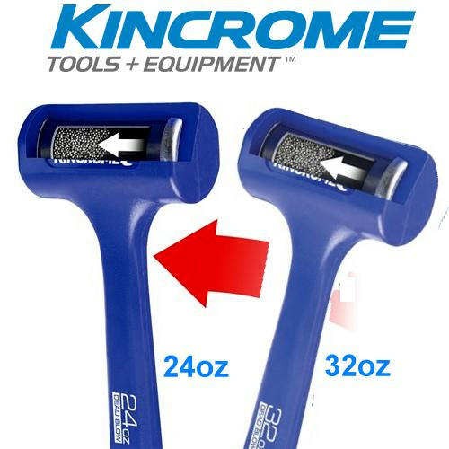 Kincrome Dead Blow Hammer Duo Pack 24 & 32OZ.