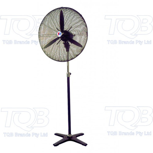 TRADEQUIP COMMERCIAL 750MM WORKSHOP PEDESTAL FAN
