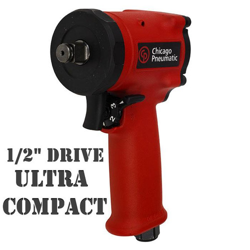 "CP7732 Chicago Pneumatic Ultra Compact 1/2"" Impact Wrench."