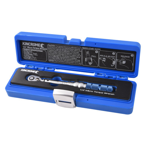 K8036 Kincrome Torque Wrench Micro Click 1/4inch