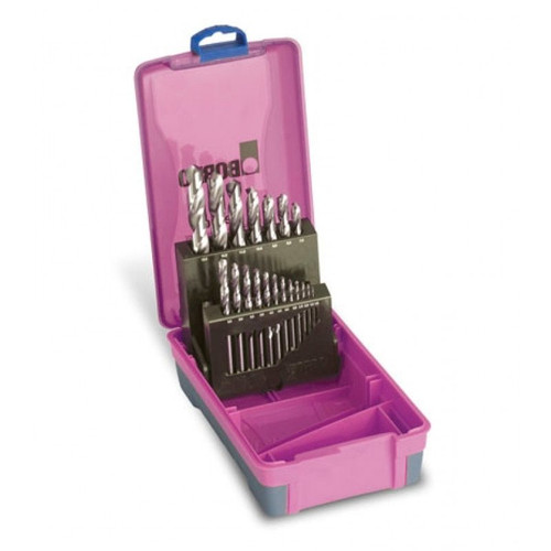 BORDO COBALT METRIC HSS DRILL BIT SET 7mm to 13mm.