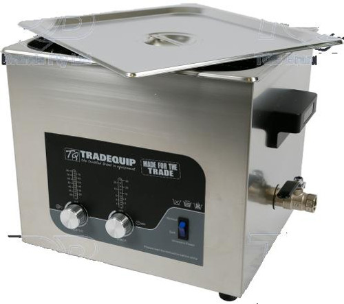 Tradequip Ultrasonic Parts Cleaner 13 Litre
