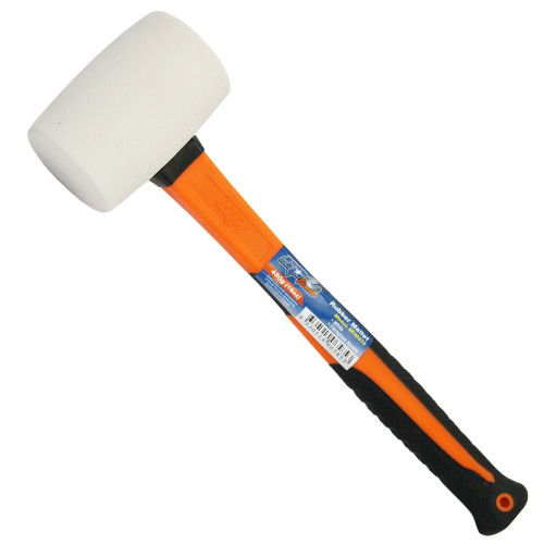 SP Tools 16oz Rubber Mallet White