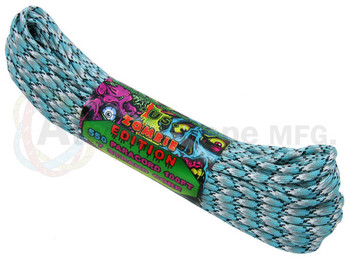 Atwood Rope Paracord | 550lb | 100ft | Zombie Edition | Antidote