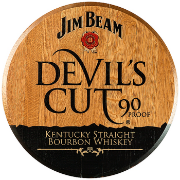 X Bourbon Barrel Head | Devels Cut | JB-02