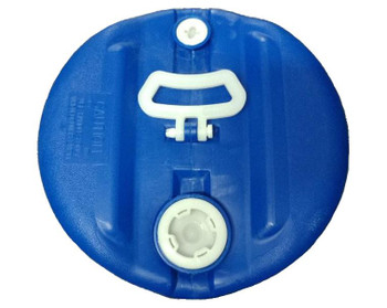 GREIF PIK-15 Gallon Tight Head Poly Drum Blue
