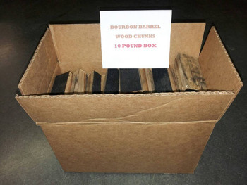 Bourbon Barrel Wood Chunks 10 lb. Box