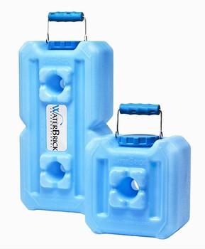 WaterBrick Half 1.6 Gallon & Standard 3.5 Gallon BLUE