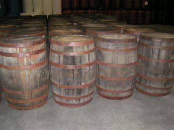 Bourbon Barrels rustic look
