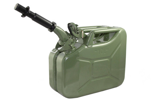 Jerry Can 10L GREEN EPA/CARB-DOT-OSHA APPROVED