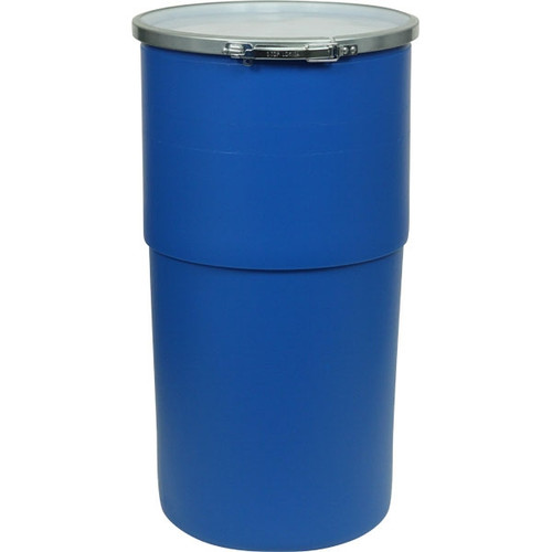 GREIF O-15 Gallon Open Head Poly Drum
