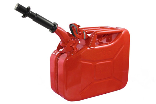 Jerry Can 10L RED EPA/CARB-DOT-OSHA APPROVED