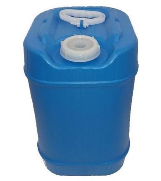 Nampac 5 gallon Closed Head Drum | Rectangular | Blue