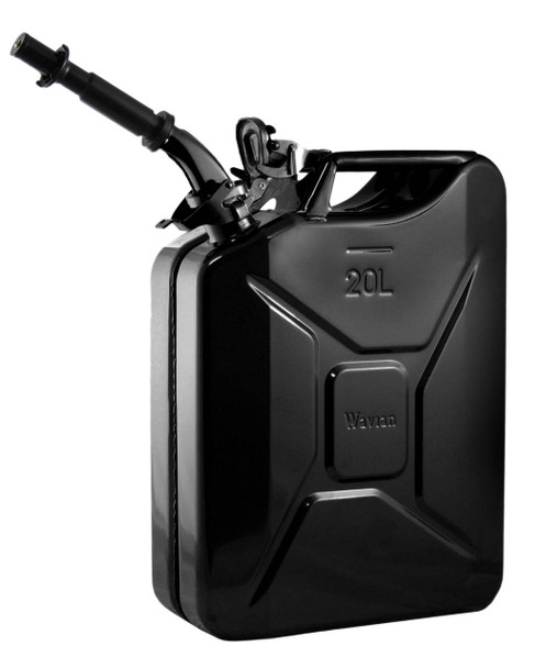 Jerry Can 20L Black EPA/CARB-DOT-OSHA APPROVED