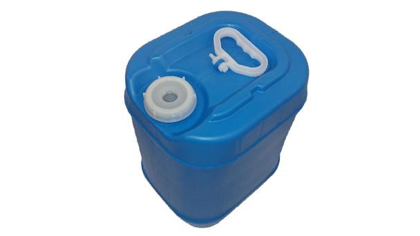 5 gallon Closed Head Drum   Rectangular   Blue