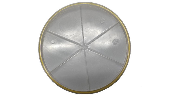 GREIF O-15 Gallon Open Head Poly Drum Cover with Gasket