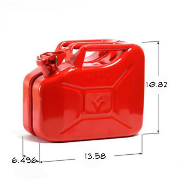 Jerry Can 10L Red