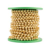Ball Chain -  3.2mm - Brass