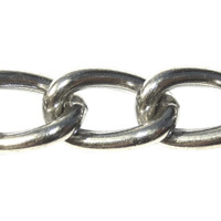 Curb Chain - 2.5mm - Stainless Steel
