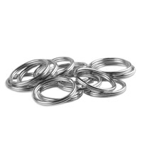 Key Rings - 12mm - Silver Nickel