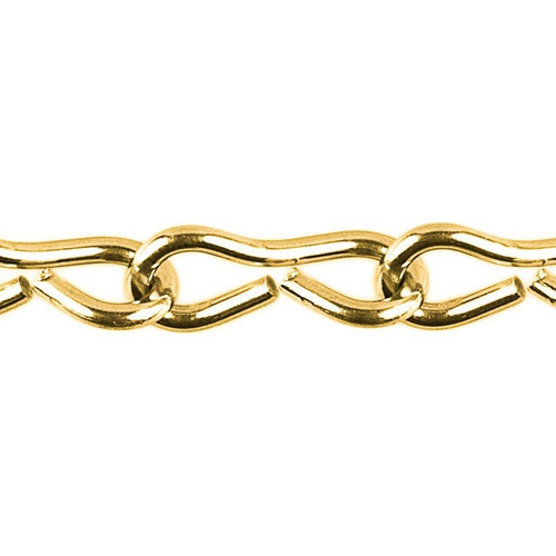 Jack Chain - 2.5mm - Brass Plated