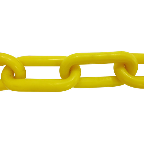 Plastic Chain 8mm Yellow