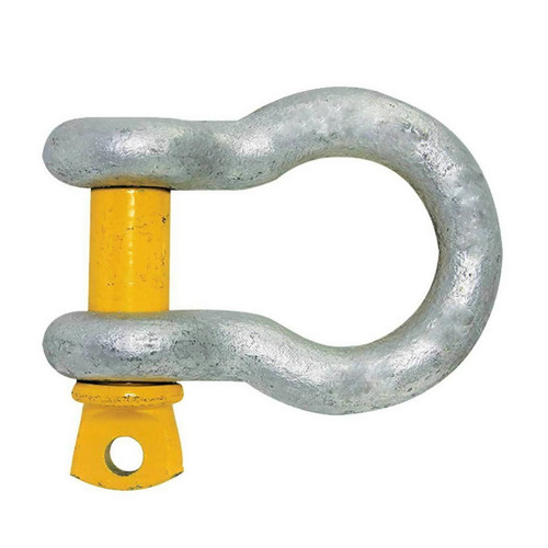 Yellow Pin Bow Shackles - 6.0mm