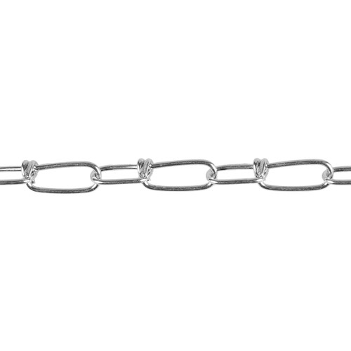 Twisted Coil Chain - 2.0mm - Zinc Plated