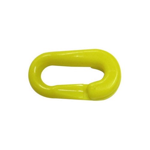 Yellow Plastic Chain Connectors - 6mm
