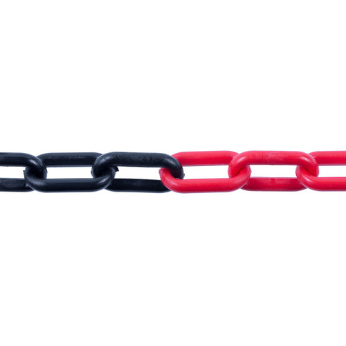 Plastic Chain 6mm Red/Black